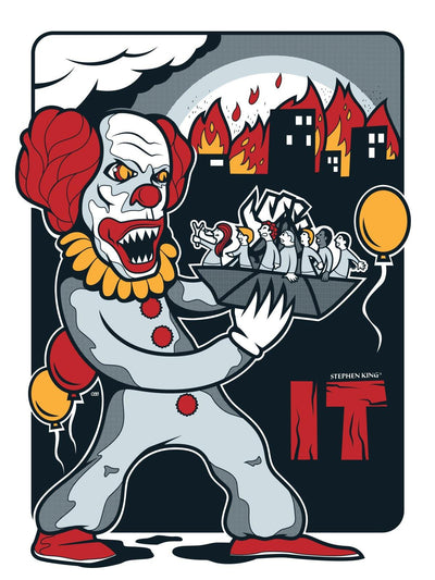 """Stephen King's IT"" by Oscar Odd Diodoro - Hero Complex Gallery  - 1"