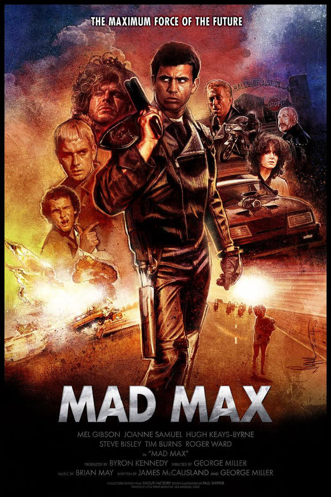"""Mad Max"" by Paul Shipper - Hero Complex Gallery"