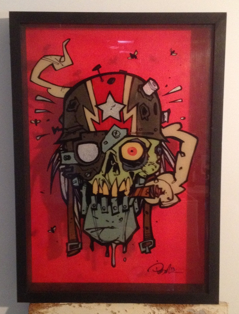 """Warhead"" by Brett Parson $250.00 - SOLD OUT - Hero Complex Gallery"