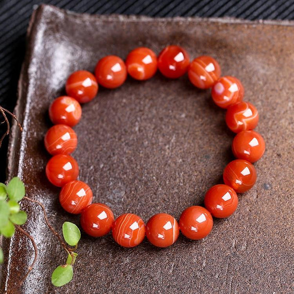 """Somchai"" Natural Stone Bracelet"