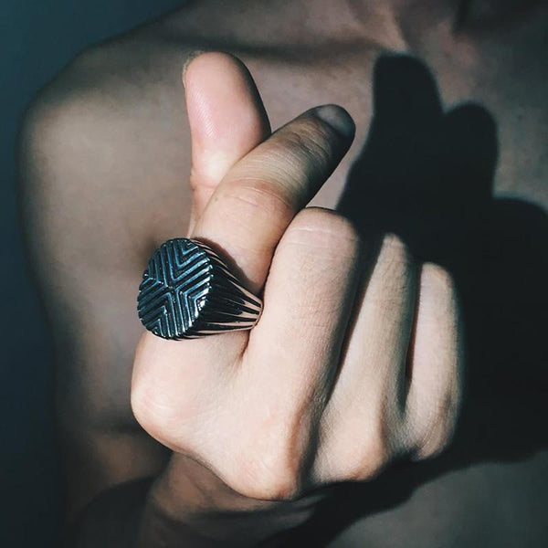 """Suchart"" Stainless Ring"