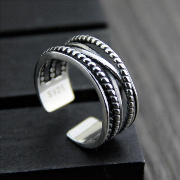 """Anong"" Silver ring"