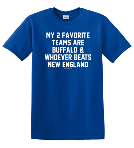 2 Favorite Teams Buffalo Football Royal