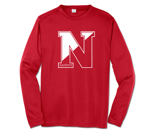 Nativity N Performance Tee (Long Sleeve)