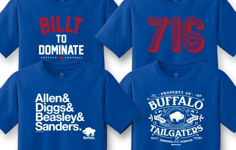 NOW AVAILABLE - LET'S GO BUFFALOOOOO!!