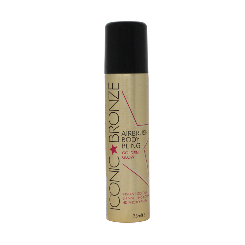 Iconic Bronze Airbrush Body Bling Instant Tan