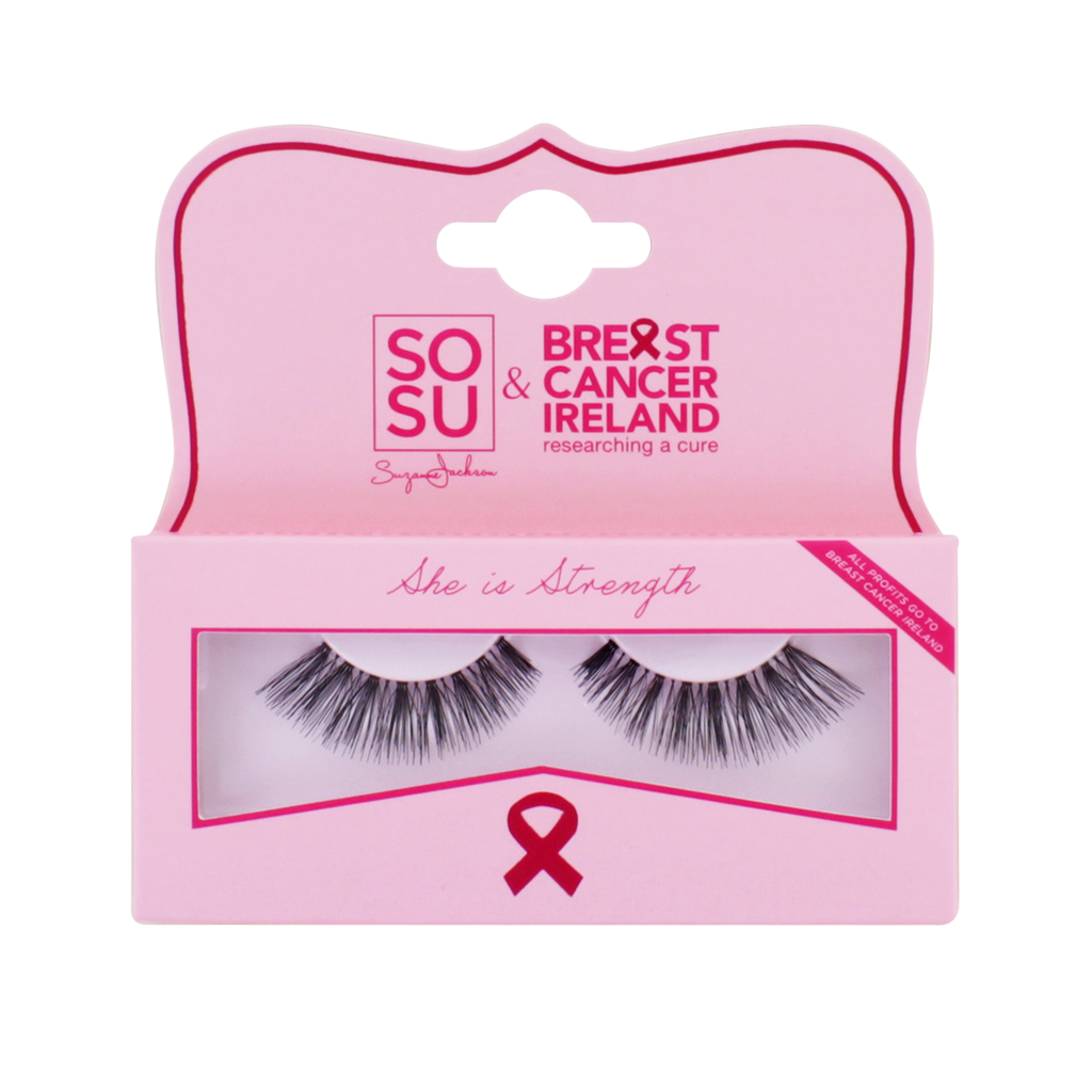 SOSU by SJ & Breast Cancer Ireland 'She Is Strength' Lash