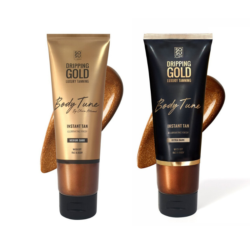 Dripping Gold Body Tune Instant Tan Duo