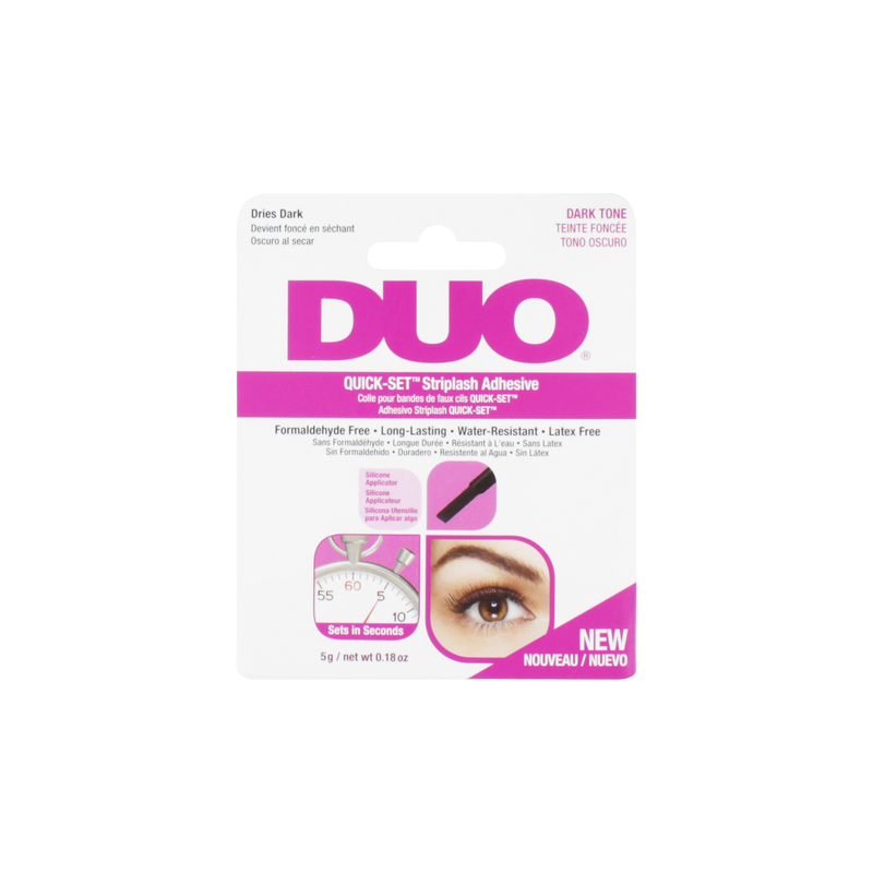 Duo Quick Set Striplash Adhesive Eyelash Glue Dark Tone