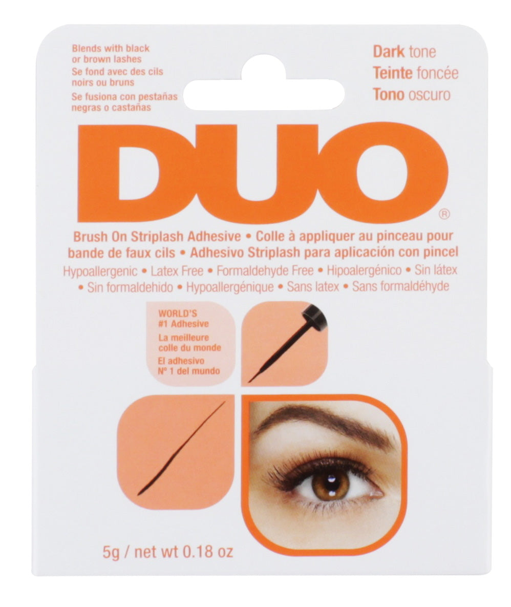 DUO Brush-On Lash Adhesive Dark Tone 5ml