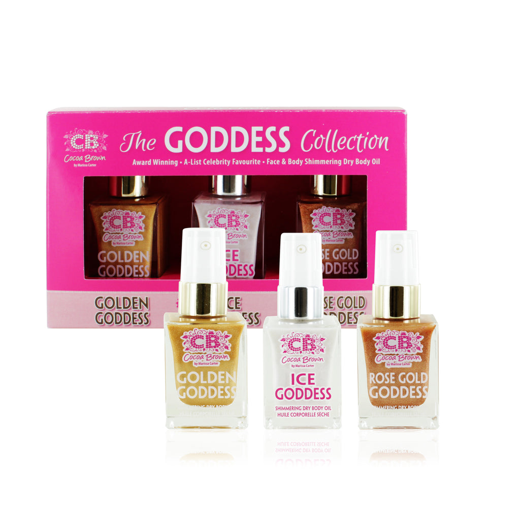 Cocoa Brown Goddess Oil Gift Set