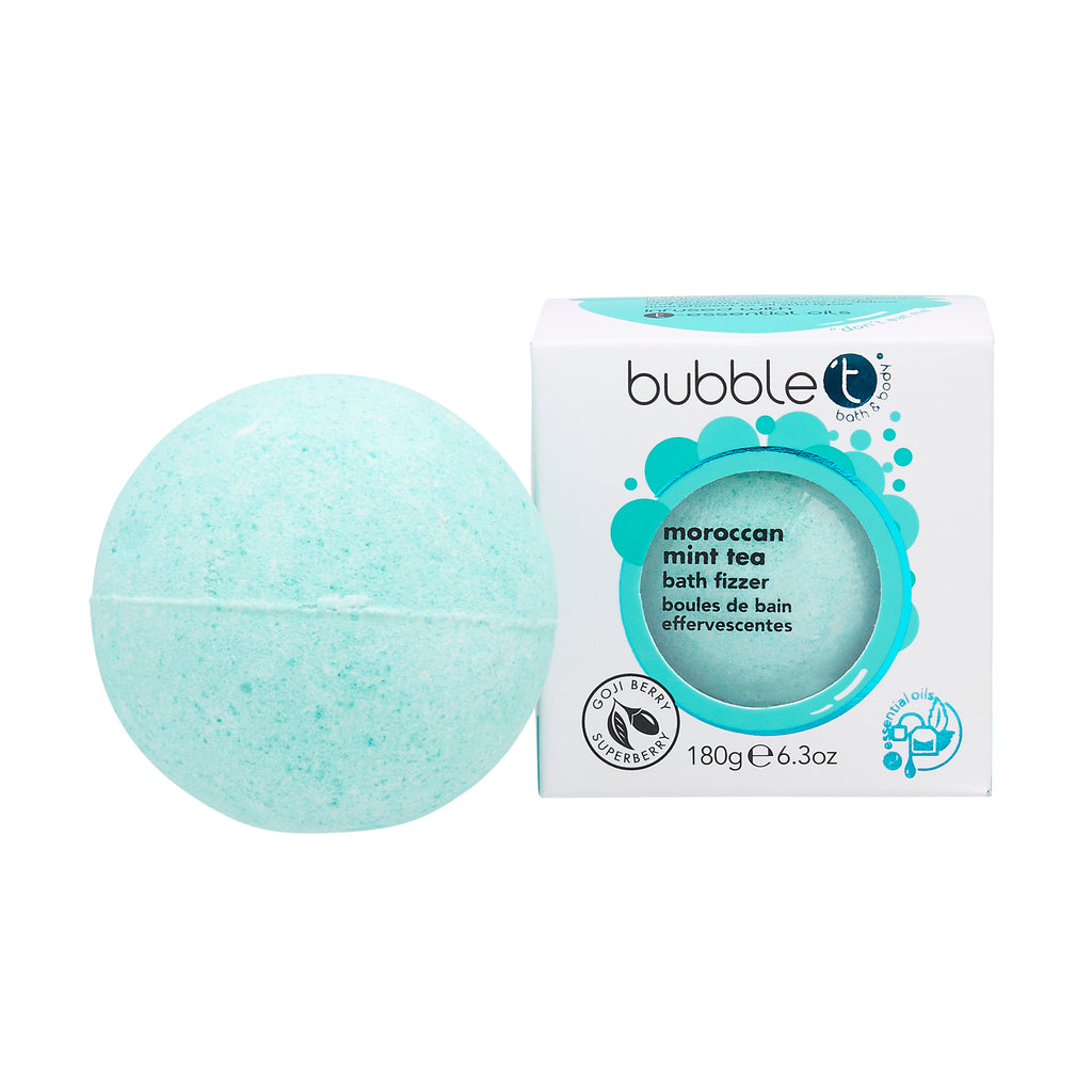 Bubble T Bath Bomb Fizzer - Moroccan Mint