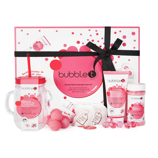 Bubble T Sweet Berry Pamper Parcel