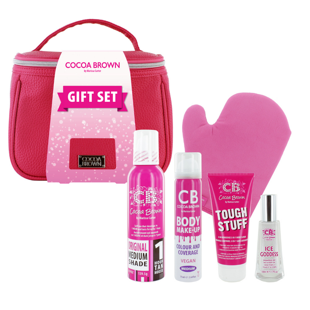 Cocoa Brown Deluxe Gift Set