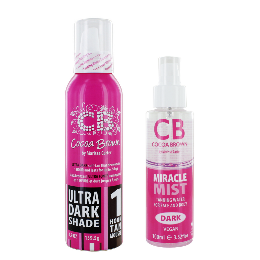 Cocoa Brown Ultra Dark Mousse & Dark Miracle Mist