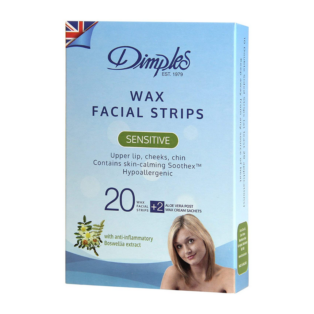 Dimples Facial Wax Strips