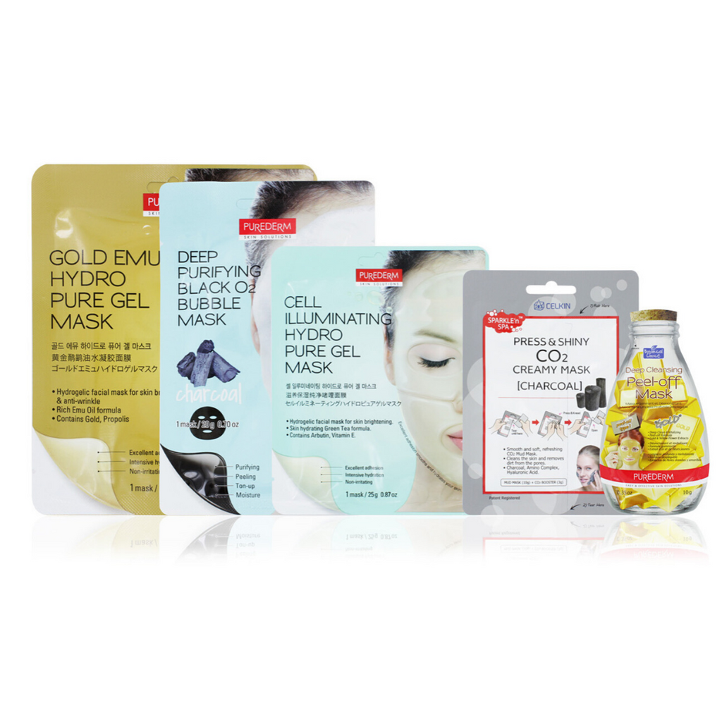 Purederm Face Masks 5 Pack