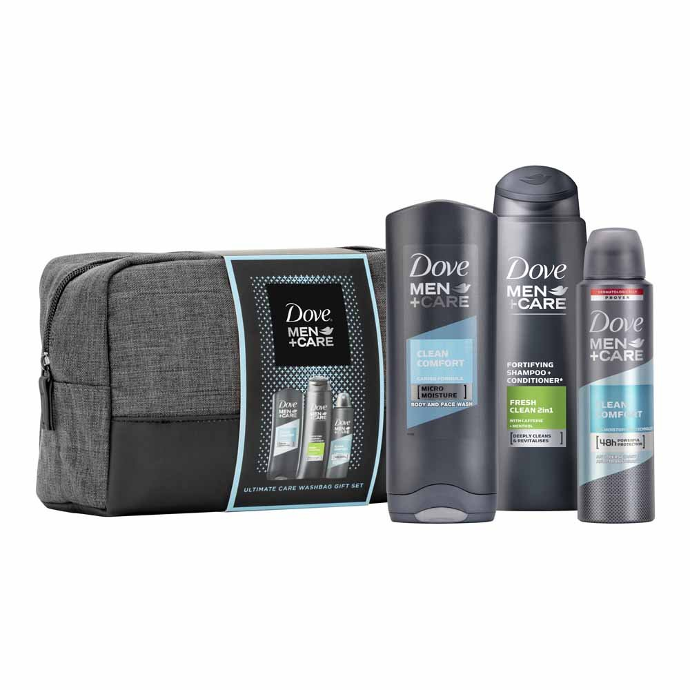 Dove Men+ Care Washbag Gift Set