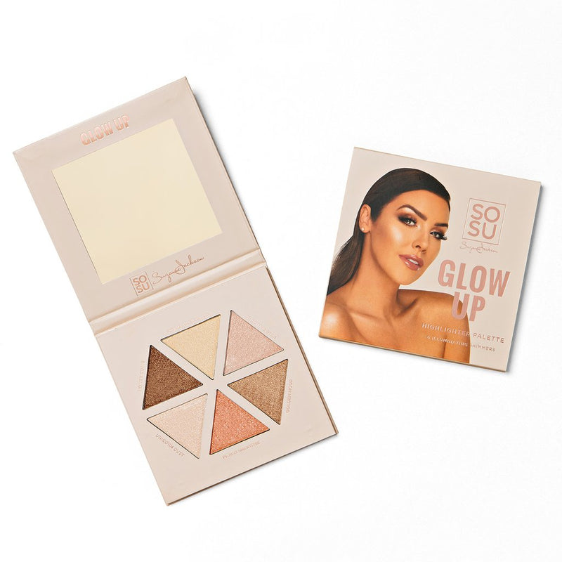 SOSU by SJ Glow Up Highlighter Palette