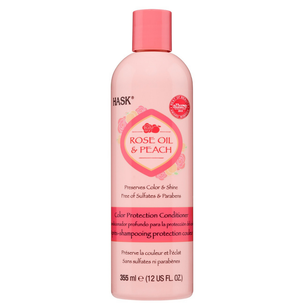 Hask Rose Oil & Peach Color Protection Conditioner