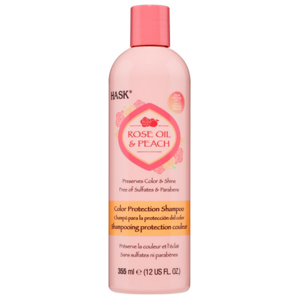 Hask Rose Oil & Peach Color Protection Shampoo
