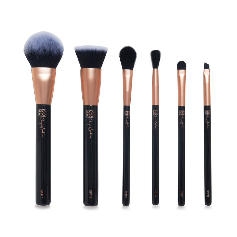SOSU by SJ Christmas Makeup Brush Set