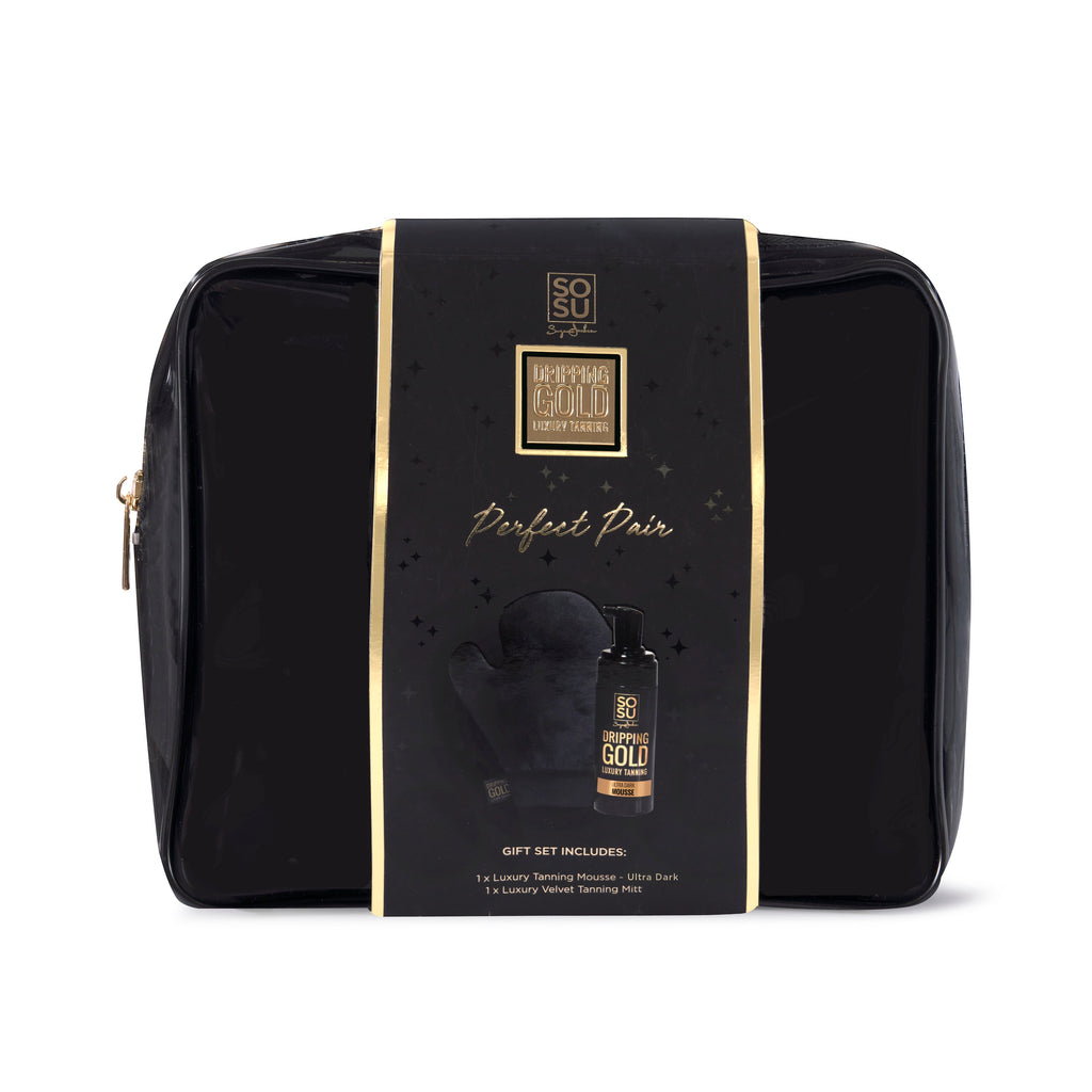 Dripping Gold Perfect Pair Gift Set - Ultra Dark Mousse