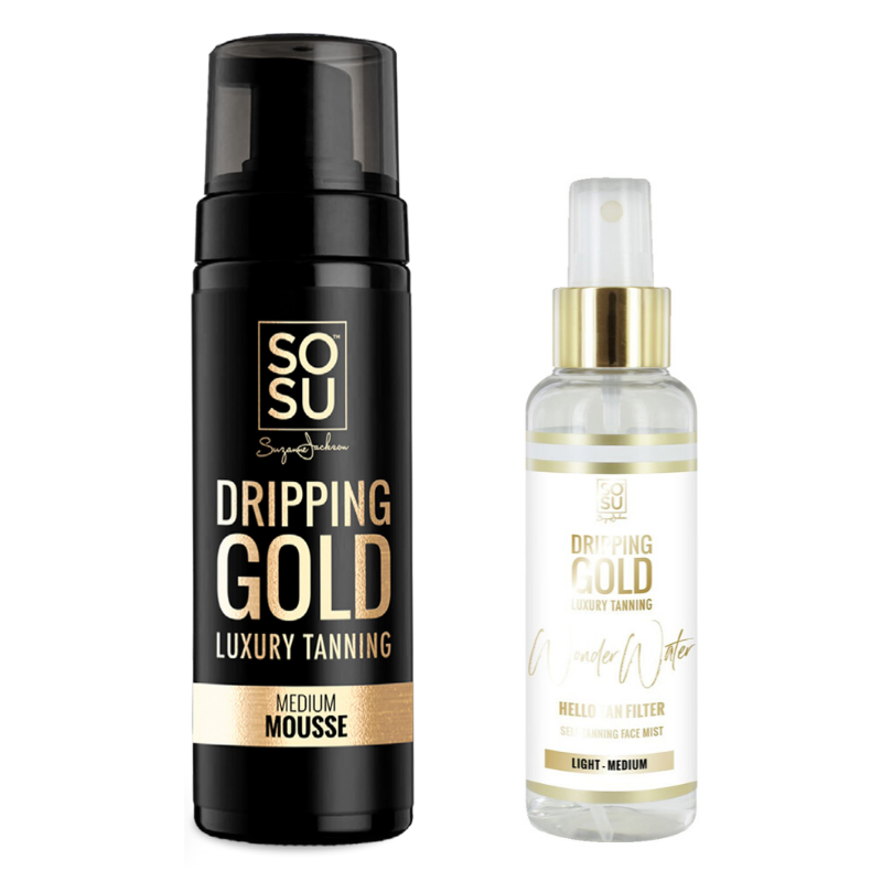 Dripping Gold Medium Mousse & Light/Medium Wonder Water