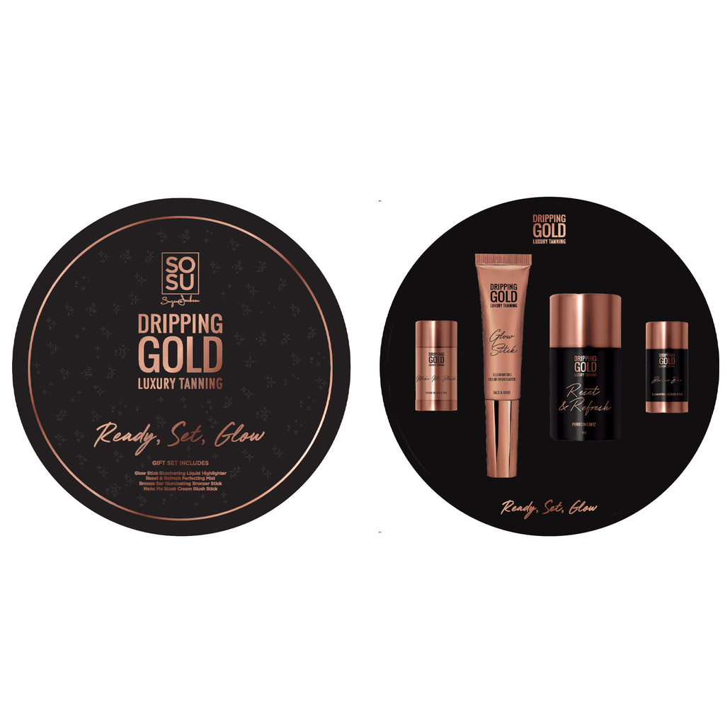 Dripping Gold Ready Set Glow Gift Set