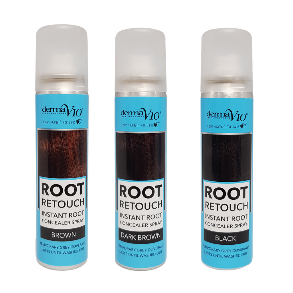 DermaV10 Root Retouch Hair Spray