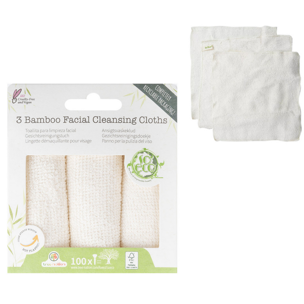 So Eco 3 Pack Bamboo Cleansing Cloths