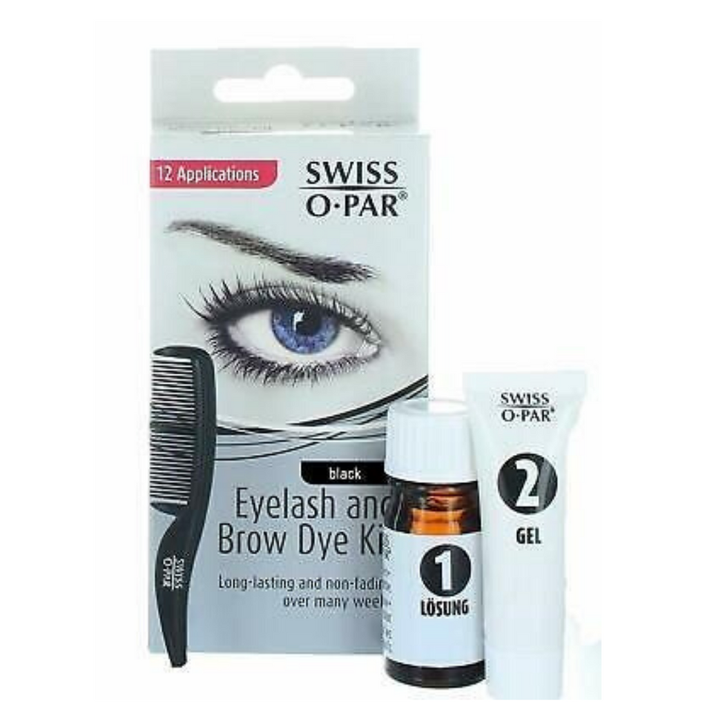 Swiss O Par Eyelash & Brow Dye Kit