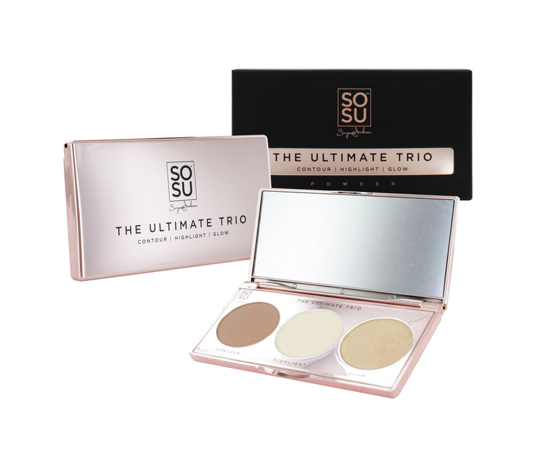 SOSU by SJ The Ultimate Trio Contour/Highlight Palette