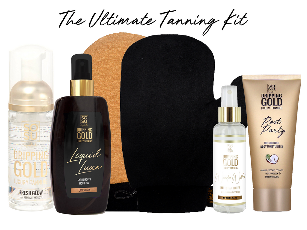Dripping Gold Ultimate Tanning Kit