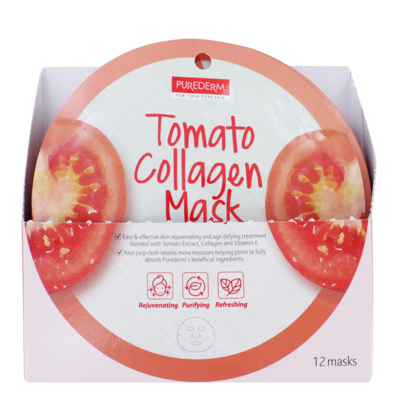 Purederm Tomato Collagen Face Mask