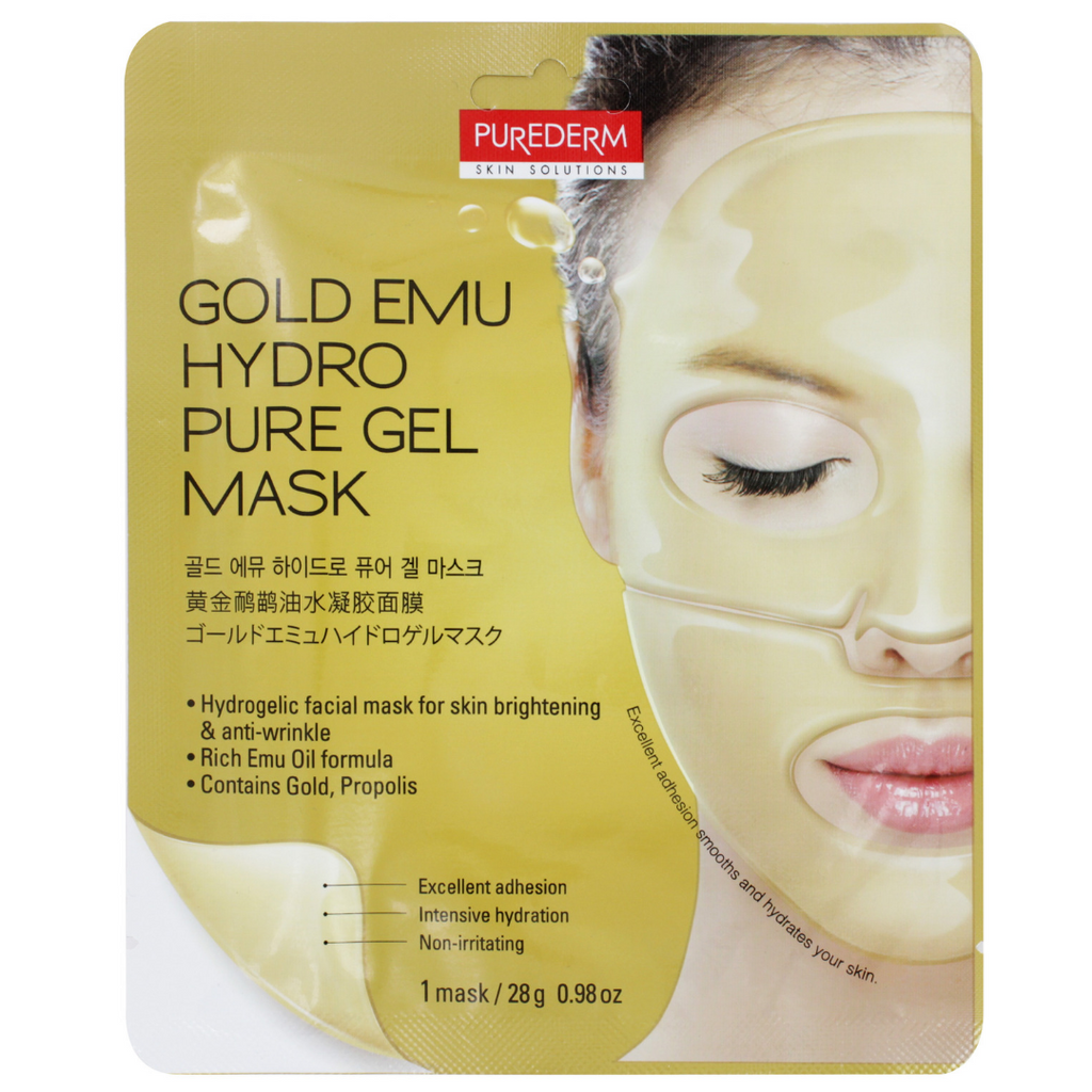 Purederm Hydro Pure Gel Sheet Face Masks