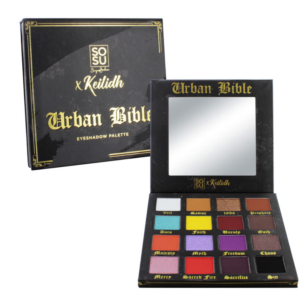 SOSU by SJ x Keilidh Urban Bible Eyeshadow Palette