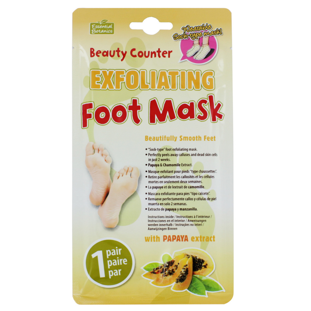 The Beauty Counter Exfoliating Foot Mask