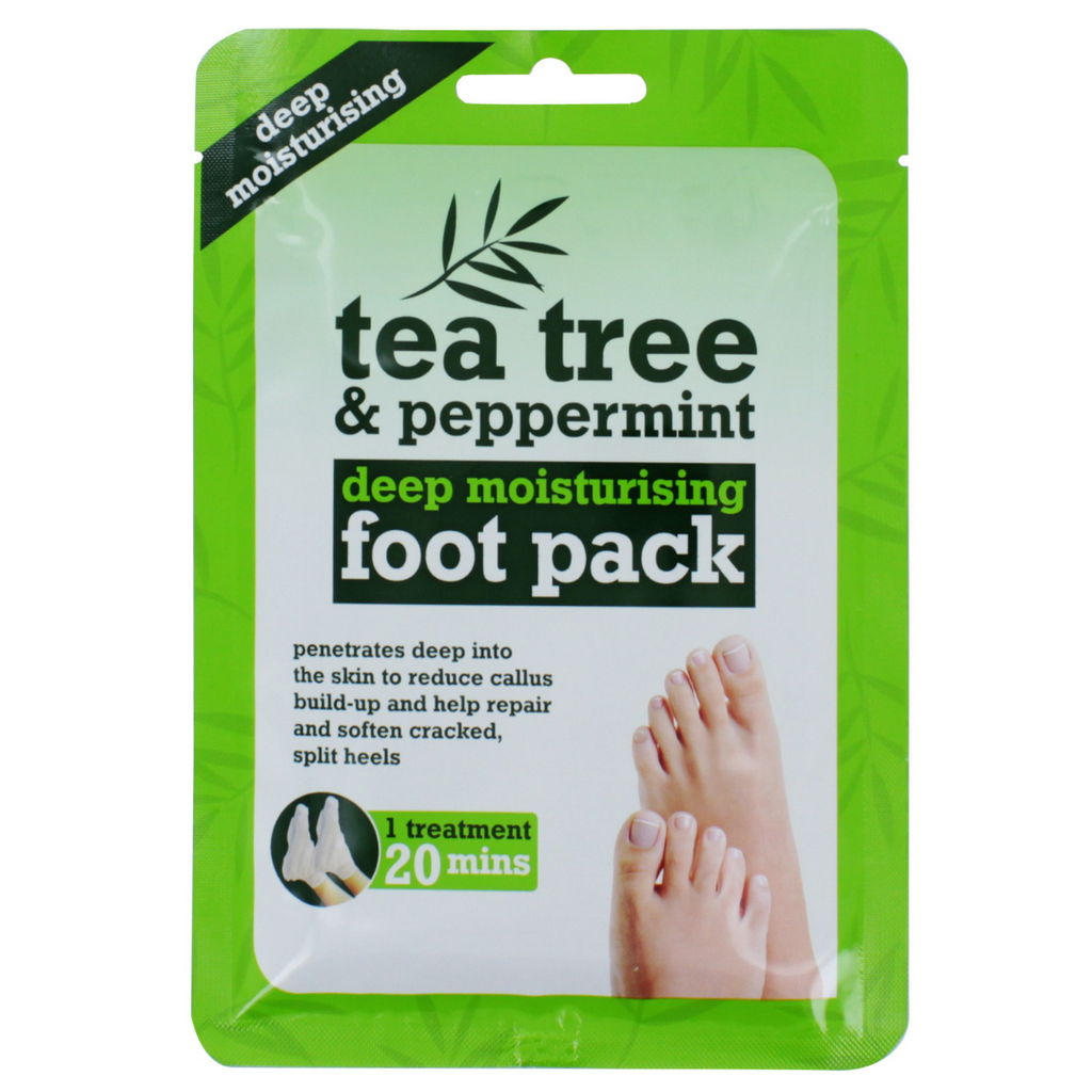 Tea Tree & Peppermint Deep Moisturising Foot Pack