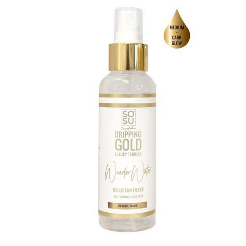 Dripping Gold Wonder Water Facial Tanning Mist