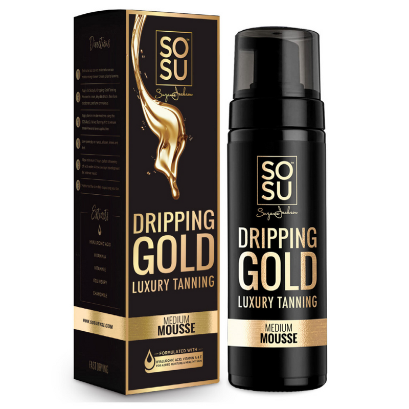 Dripping Gold Medium Tanning Mousse