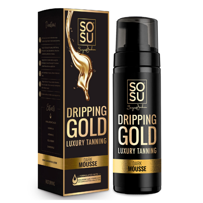 Dripping Gold Dark Tanning Mousse