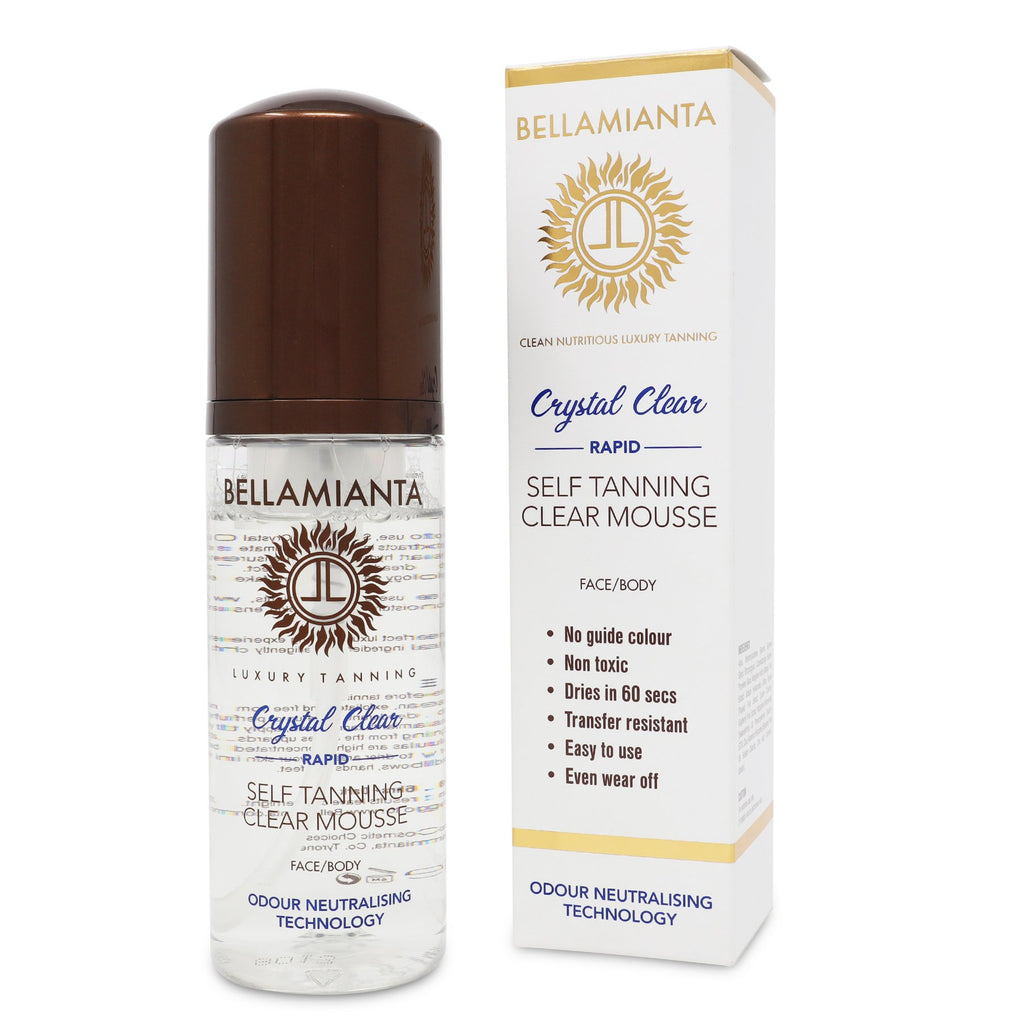 Bellamianta Crystal Clear Rapid Self Tanning Mousse