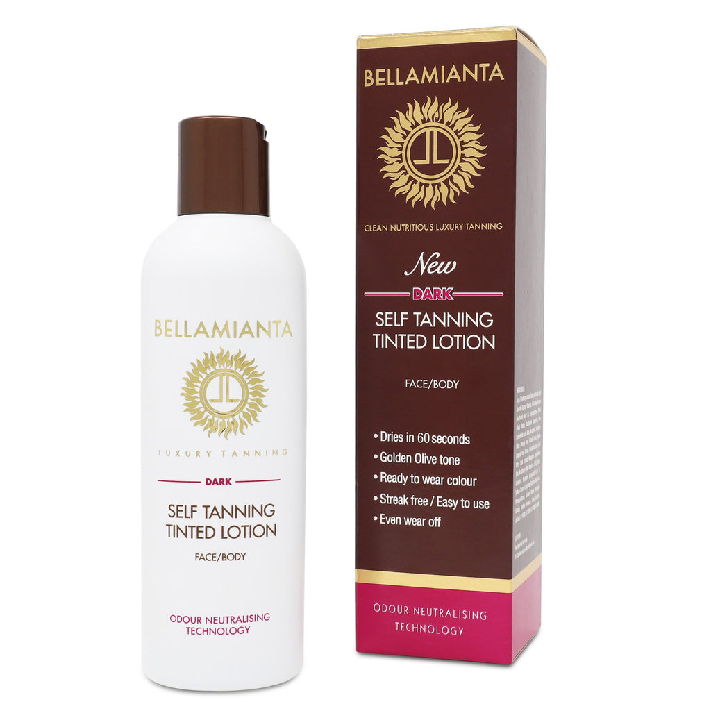 Bellamianta Dark Self Tanning Tinted Lotion