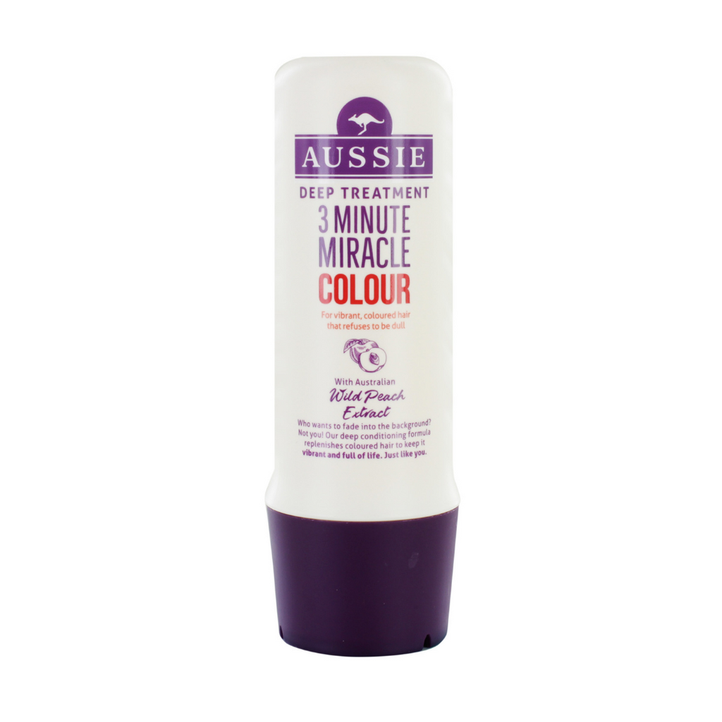 Aussie 3 Minute Miracle Colour Deep Conditioning Treatment
