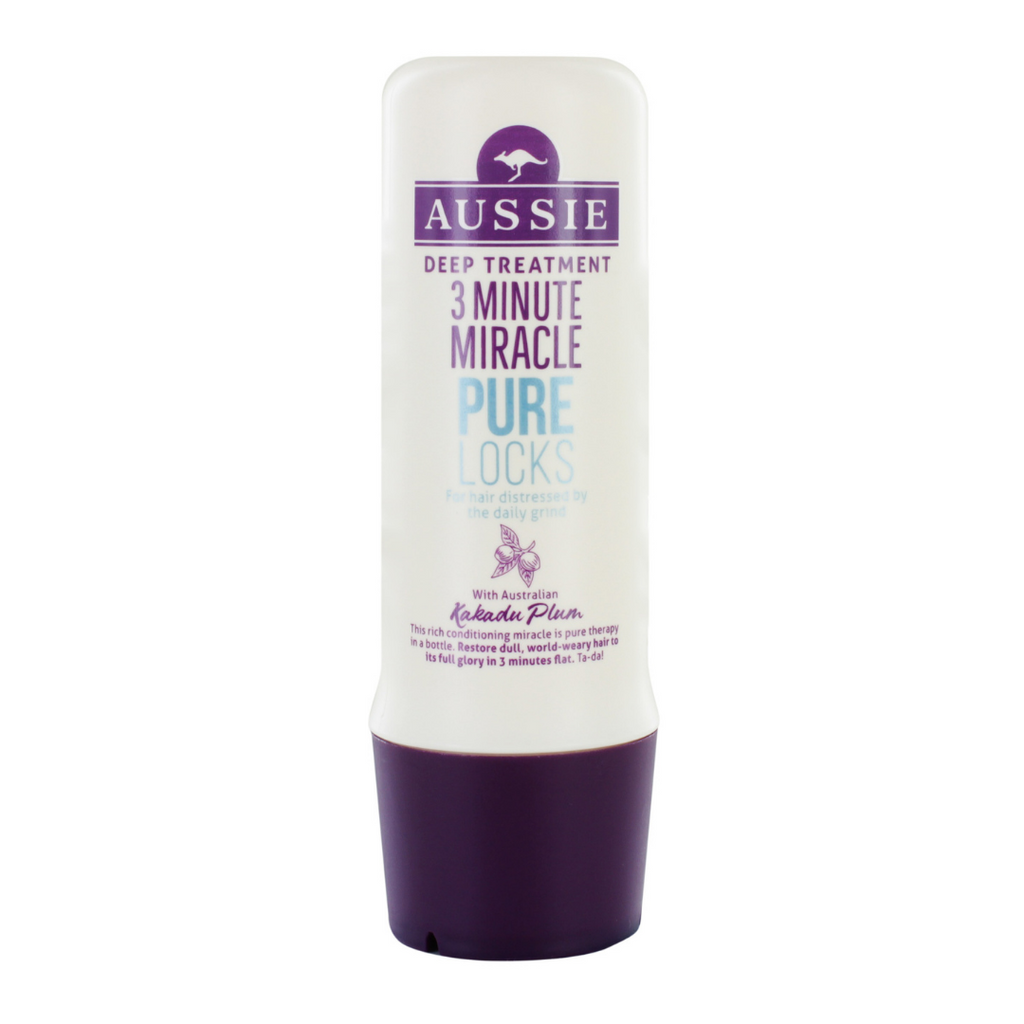 Aussie 3 Minute Miracle Pure Locks Deep Conditioning Treatment