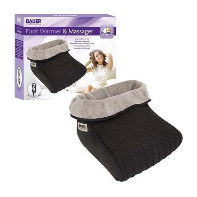 Bauer Professional Electric Foot Warmer & Massager