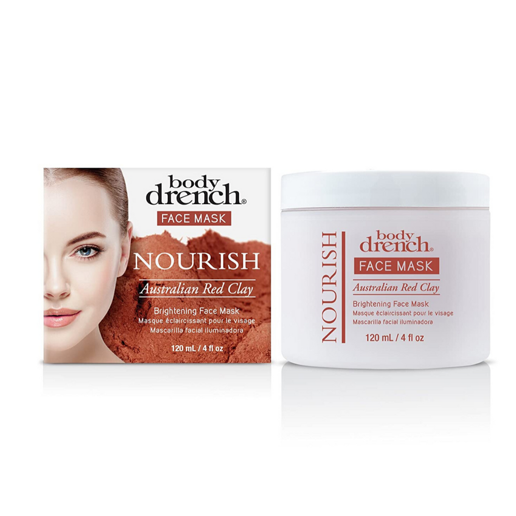 Body Drench Australian Red Clay Brightening Face Mask