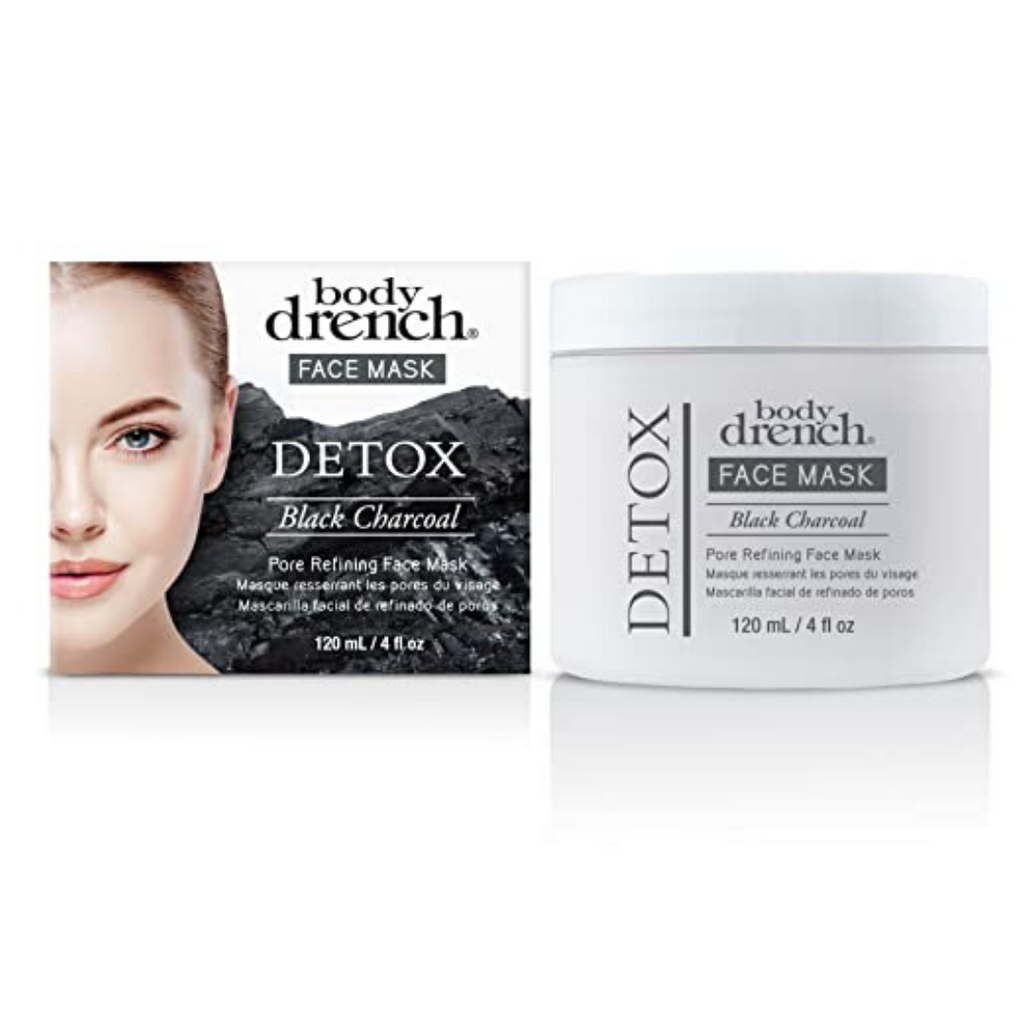 Body Drench Black Charcoal Detox Face Mask