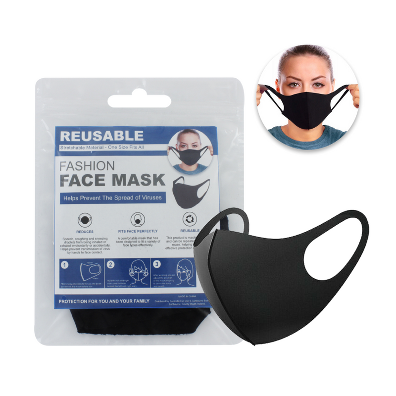 Re-Usable Face Masks - Pack of 2
